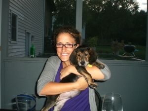 this one if for you Janetha - me and Amy's new pup Charlie (seriously, soooo cute!)